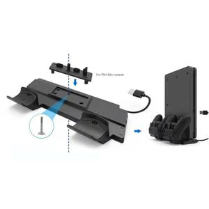 Image 5 - Vertical Cooling Stand Charging Station Dock w/HUB for PS4/PS4 Slim/PS4 Pro