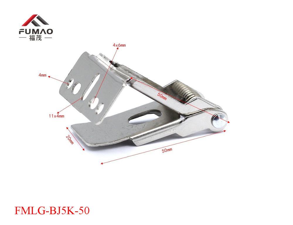 Купить с кэшбэком Manufacturer Free shipping flat metal spring clips fixed spring lamp holder bracket, spring clip for recessed lighting