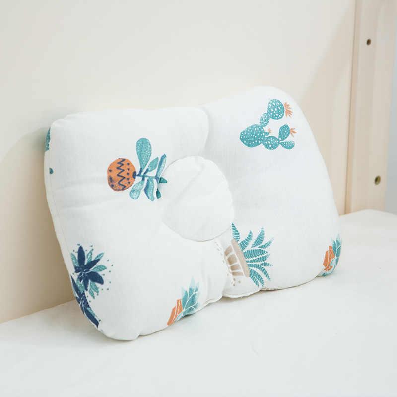 หมอนเด็กทารกหัวป้องกัน Cushion เตียงเด็กทารกเว้า Breathable พยาบาลเด็กหมอน Sleep Positioner