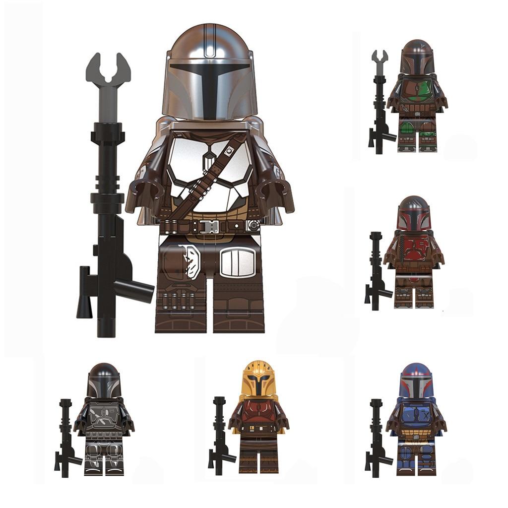 Mandalorian Building Blocks 8pcs Mandalorian Shock Troopers Kit Great Gift Idea For Any Fan Of The Mandalorian