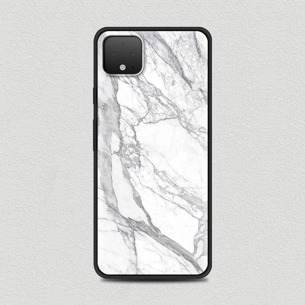 Luxury Marble Silicone Phone Case For Google Pixel 4 XL 4 4A Cover For Google Pixel 5 4G 5G Soft Black Shell Coque