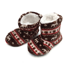 Buy Non-slip Winter Shoes Cute Animal Prints Soft Plush Home Slippers Girls Boys Slippers Indoor Floor Kids Slippers Children Shoe directly from merchant!