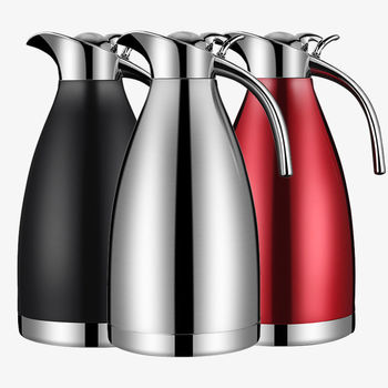 Thick Stainless Steel Thermos Pot Vacuum Thermos Household Thermos Large Capacity Thermos Pot Thermos Thermos 2L Thermos Bottle фото