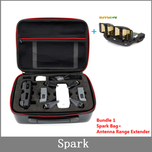 กระเป๋าสำหรับ Spark กระเป๋ากันน้ำคาร์บอนไฟเบอร์แบบพกพากระเป๋าถือกระเป๋าถือสำหรับ DJI SPARK Drone อุปกรณ์เสริม