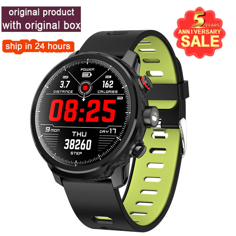 2019 Hot L5 Smart Watch Waterproof Men Smart Watch Android Wristband Call Bluetooth  Reminder Heart Rate Pedometer Swimming Ip68