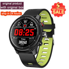 2019 Hot L5 Smart Watch Waterproof Men Smart Watch Android Wristband Call Bluetooth  Reminder Heart Rate Pedometer Swimming Ip68 стоимость