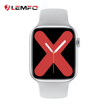 LEMFO 1.75 inch ECG PPG W26 Smart Watch Men Women 2020 Bluetooth Call Body Temperature 44mm Smartwatch PK Series 5 IWO 12 8