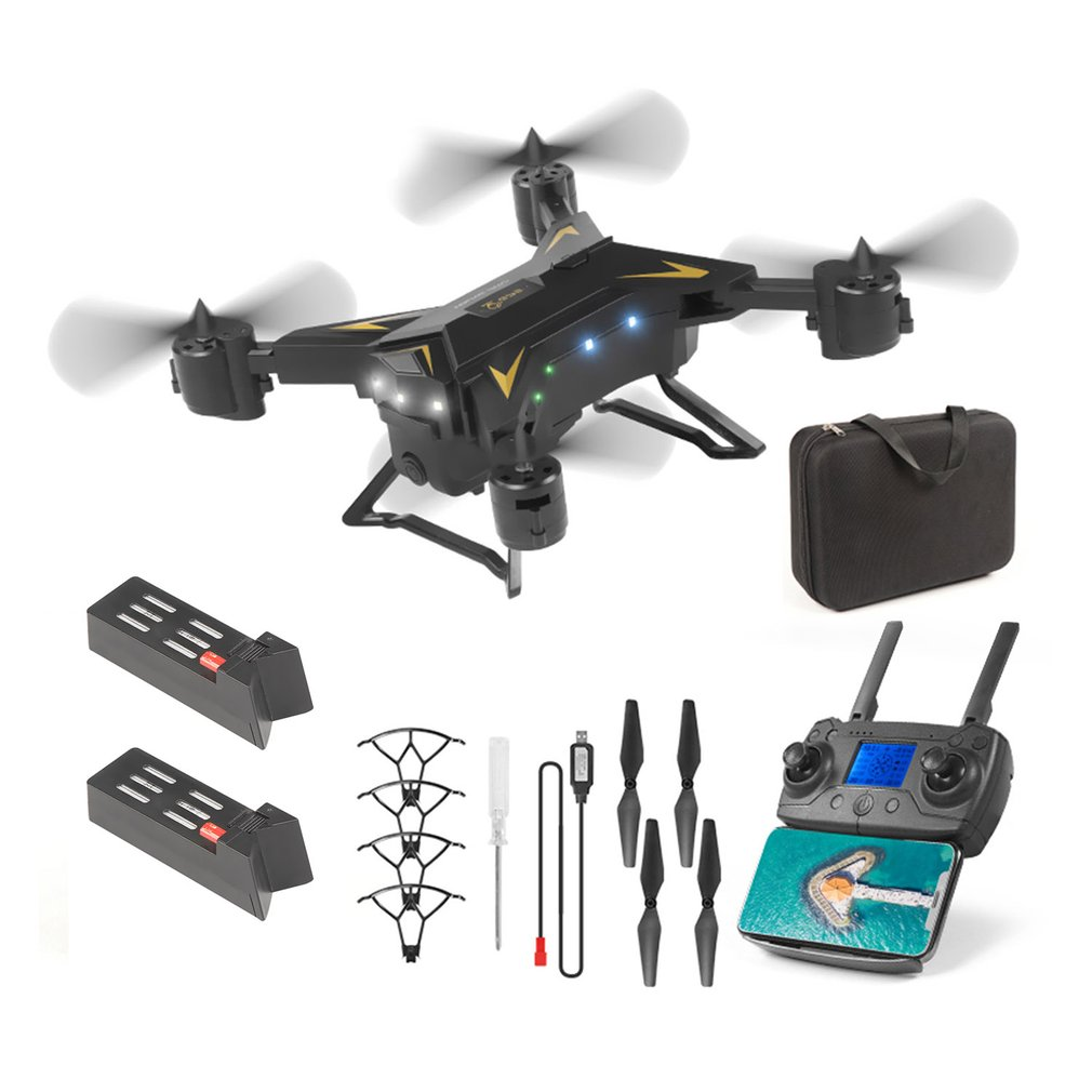 New KY601g <font><b>5G</b></font> WiFi Foldable <font><b>Drone</b></font> Remote Control FPV 4-Axis GPS Aerial Toy Foldable Aircraft Geature Photo Video RC Airplane image