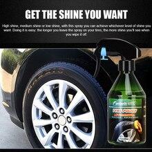 260ml Nano Coating Spray Agent And Plastic Retreading Agent Auto Hydrophobic Polish Maintenance Tire Cream Car Wax