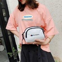 Women Canvas Handbags Korean Mini Student Bag Cell Phone Bags Simple Small Crossbody Casual Ladies Flap Shoulder