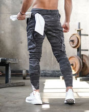 Men's jogging pocket design sweatpants New cotton camouflage men's fitness multi-pocket jogging pants fashion training suit