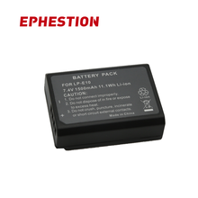 EPHESTION LP-E10 LP E10 LPE10 цифровой Камера Батарея для Canon 1100D 1200D 1300D Rebel T3 T5 поцелуй X50 X70 L1 высокое Ёмкость