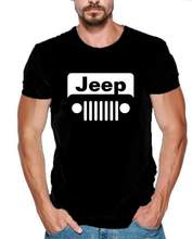 Summer tshirt streetwear Beer jeep t shirt men Funny jeep owner Gift tee shirt cotton short sleeve t-shirt camisetas(China)