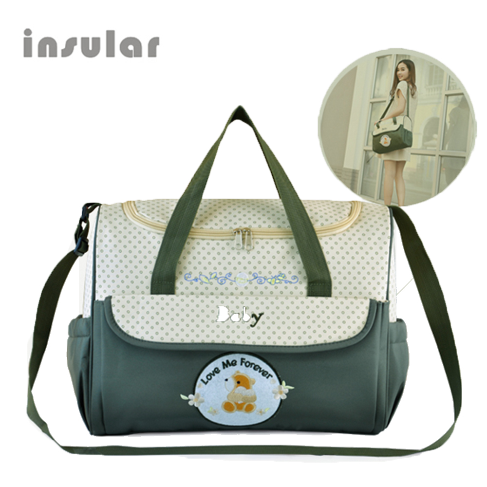 Large Capacity Multifunction Diaper Bag Durable Mommy Bags Travel Backpack Designer Nursing Bags For Baby Care Baby Nappy Bag