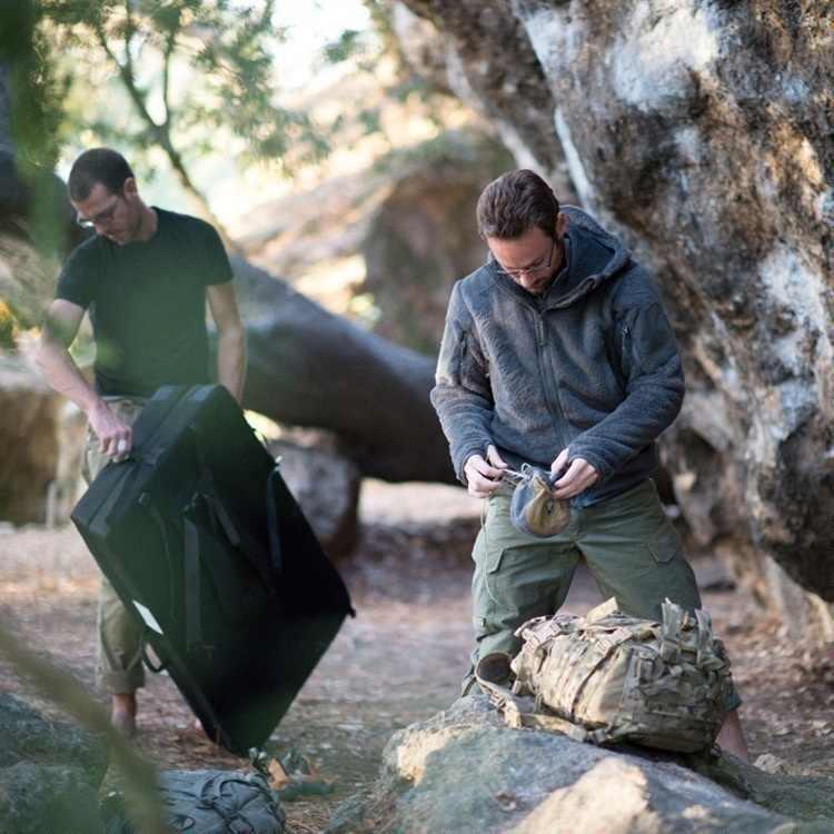 2019 męskie taktyczne spodnie wojskowe SWAT spodnie multi-kieszenie Cargo spodnie treningowe męskie bojowe spodnie wojskowe bezpieczeństwo pracy mundury