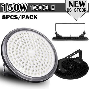 150W Mining Lamp New UFO LED Light 220V LED Industrial Lighting Waterproof IP65 Ceiling Light Warehouse Factory Lamp