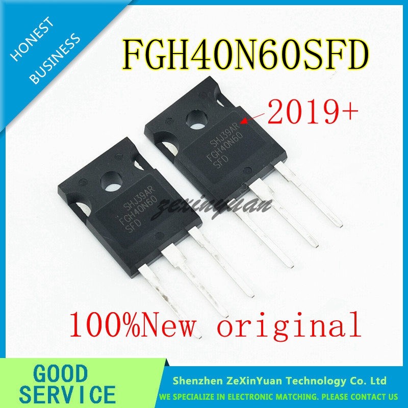 100PCS 100% New Imported Original FGH40N60SFD FGH40N60 TO-247 Triode Electric Welding Machine IGBT Tube 40A600V