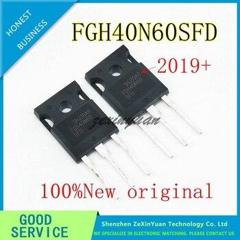 100PCS 100% new imported original FGH40N60SFD FGH40N60 TO-247 triode electric welding machine IGBT tube 40A600V
