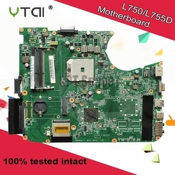 A000081230 DA0BLFMB6E0 for Toshiba Satellite L750 L755D laptop motherboard DA0BLFMB6E0 REV:E SOCKET FS1 mainboard 100% tested