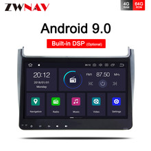 Coche reproductor Multimedia Android 9,0 GPS Autoradio 2 Din USB para VW Volkswagen POLO Volkswagen 2014, 2015, 2016, 2017 Octa 8 núcleo Radio Wifi dvd(China)