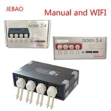 JEBAO DP2 DP3 DP4 DOSER2.4 DOSER3.4 коралловый Цилиндр автоматический титровальный насос перистальтический насос автоматическое дозирование добавленного времени насоса