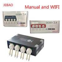 JEBAO DP2 DP3 DP4 DOSER2.4 DOSER3.4 Corallo Cilindro Automatico Pompa di Titolazione Peristaltica Pompa Auto Pompa Dosatrice di Temporizzazione aggiunto