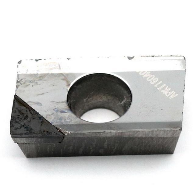 Mzg cnc apkt1135 pcd apkt1604 pcd sólido carboneto de tungstênio torneamento fresa inserções para processamento de alumínio