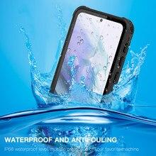 IP68 Waterdichte Case Voor Samsung S21 Ultra Case Samsung Galaxy S21 Plus Water Proof Cover Voor Samsung S21 360 Beschermen a51