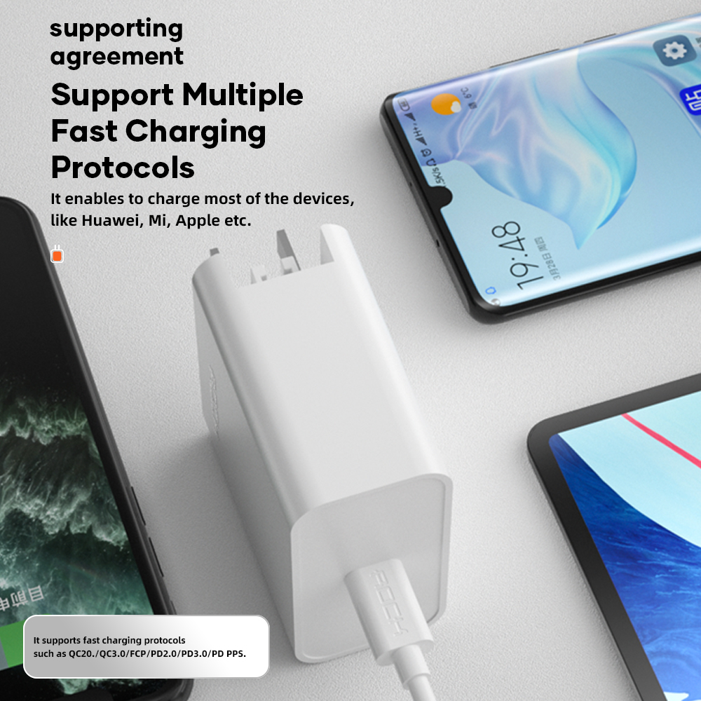 ROCK 65W GaN Charger T36 11