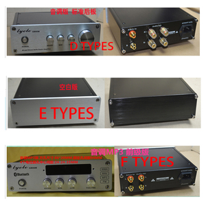 Image 3 - KYYSLB 203*60*169MM X2006 Mini tam alüminyum amplifikatör şasi DIY muhafaza LM4610 ton kutusu DAC Preamp şasi amplifikatör durumda
