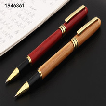 Pen Ballpoint-Pens Office Rollerball Stationery-Supplies Log Pen-Quality Wood Business