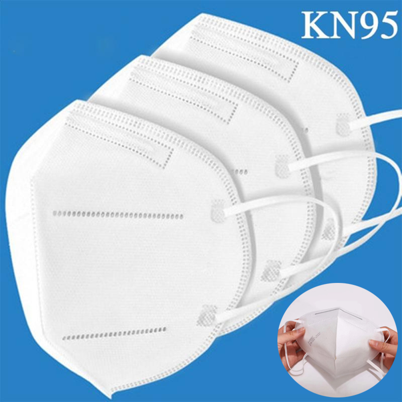 Prevent Flu KN95 Face Mask N95 Respirator Mask Dust Formalde Hyde Bad Smell Bacteria Proof Face Mouth Mask Dropshipping