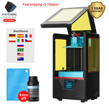 Anycubic Foton S 3d Printer dengan 500 Ml Resin LCD 3D Printer dengan Daya Rendah SLA 3d Printer DIY Kit sinar UV Impresora 3D(China)