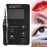 Multifunctional Tattoo Machine Linen-free Microblading Digital Touch Pen Machine for Eyebrow Lips Embroridery