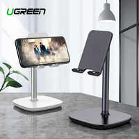 Ugreen suporte do telefone móvel para o iphone x 8 7 6 plus mesa tablet suporte do telefone celular suporte acessórios para xiaomi telefone titular