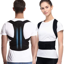 Posture Corrector for Men and Women Back Posture Brace Clavicle Support Stop Slouching and Hunching Adjustable Back Trainer