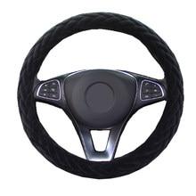 Couverture de Volant de voiture en peluche, enveloppe de Volant de camion confortable pour 36 38 40 42 45 47 50 CM