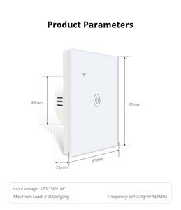 Image 5 - Zemismart تويا واي فاي مفتاح الإضاءة محايد اختياري واحد اثنين ثلاثة عصابة أليكسا جوجل الرئيسية مساعد التحكم في الحياة الذكية