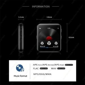 Image 5 - חדש BENJIE Bluetooth MP3 נגן מוסיקה נגן מגע מסך HiFi מתכת נגן עם FM רדיו, קול שיא מיני ווקמן ספורט