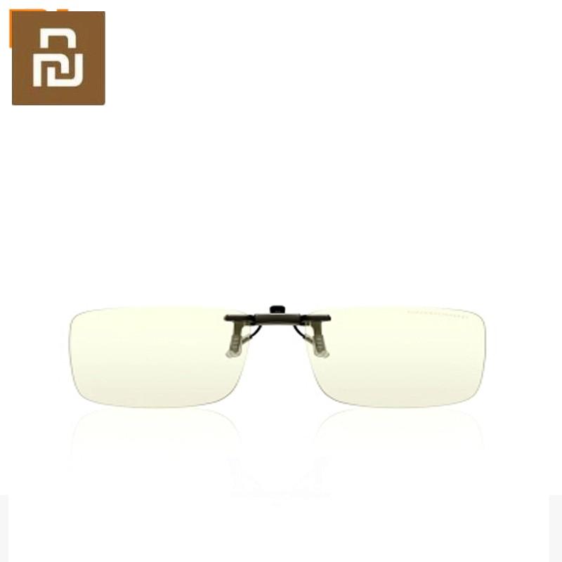 Зеркало с защитой от сисветильник для мужчин и женщин, оригинальное плоское зеркало с зажимом TS для снятия усталости глаз и защиты глаз