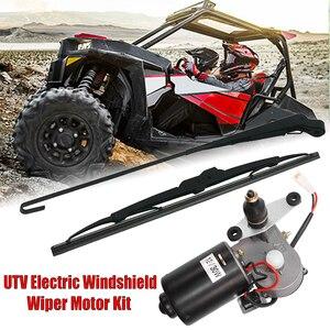 Универсальный комплект электродвигателей для лобового стекла Can Am, Honda, Kawasaki TERYX, Polaris Ranger RZR 900, 12 В