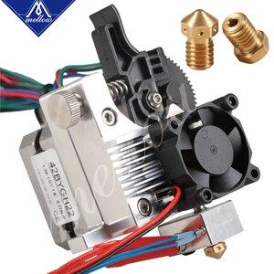 Image 5 - Mellow 3D printer parts upgrade All metal titan Extruder for V6 J head bowden hotend Anet a8 Cr 10 Prusa i3 mk3 MK8 Ender 3