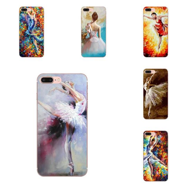 Ballet bailarina pintura de aceite 2 para HTC deseo 530, 626, 628, 630, 816, 820, 830 A9 M7 M8 M9 M10 E9 U11 U12 la vida además de