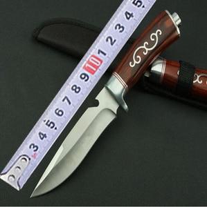 Image 5 - 2019 facas táticas lâmina fixa faca sobrevivência ferramentas de resgate caça facas resistência à corrosão caça combate ao ar livre ferramenta