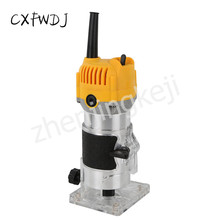 Electric Hardware Tools High Power Industrial Grade Trimming Machine Woodworking Slot