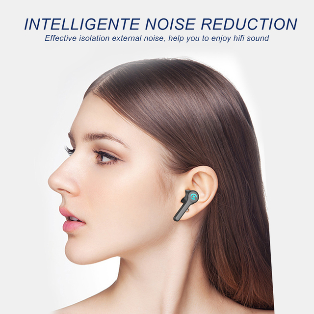 56 HOURS LONG Battery Wireless Bluetooth V5.1 Earphone Colorful Wireless Headphone HIFI Stereo Earbuds Call Earphone with Mic 3