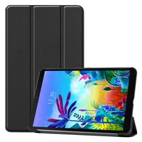 leather flip Case For LG G Pad 5 10.1 FHD LM-T600L PU Leather Flip Stand Cover Shell Shockproof Tablet Case For LG GPad 5 10.1 inch KS0469 (1)