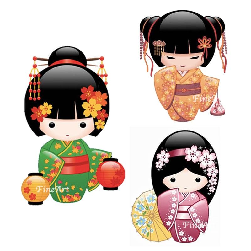 Kimmidoll metal cutting dies new Japan kokeshi stencils craft dies stamp mold for scrapbooking invitation die gift Diy card deco