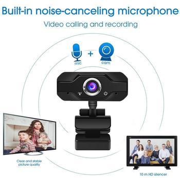 Speaker Webcam 1080p Web Camera with Microphone PC Camera Full HD Webcam 1080p Web Cam for Computor Usb Camera With Webcam Cover 5