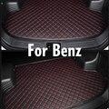 Пользовательские автомобильные коврики для багажника Mercedes Benz C class W204 S204 C204 W205 S205 C55 C63 AMG Lugxury БАГАЖНИК Грузовой загрузки ковер  дорожки  вклад...